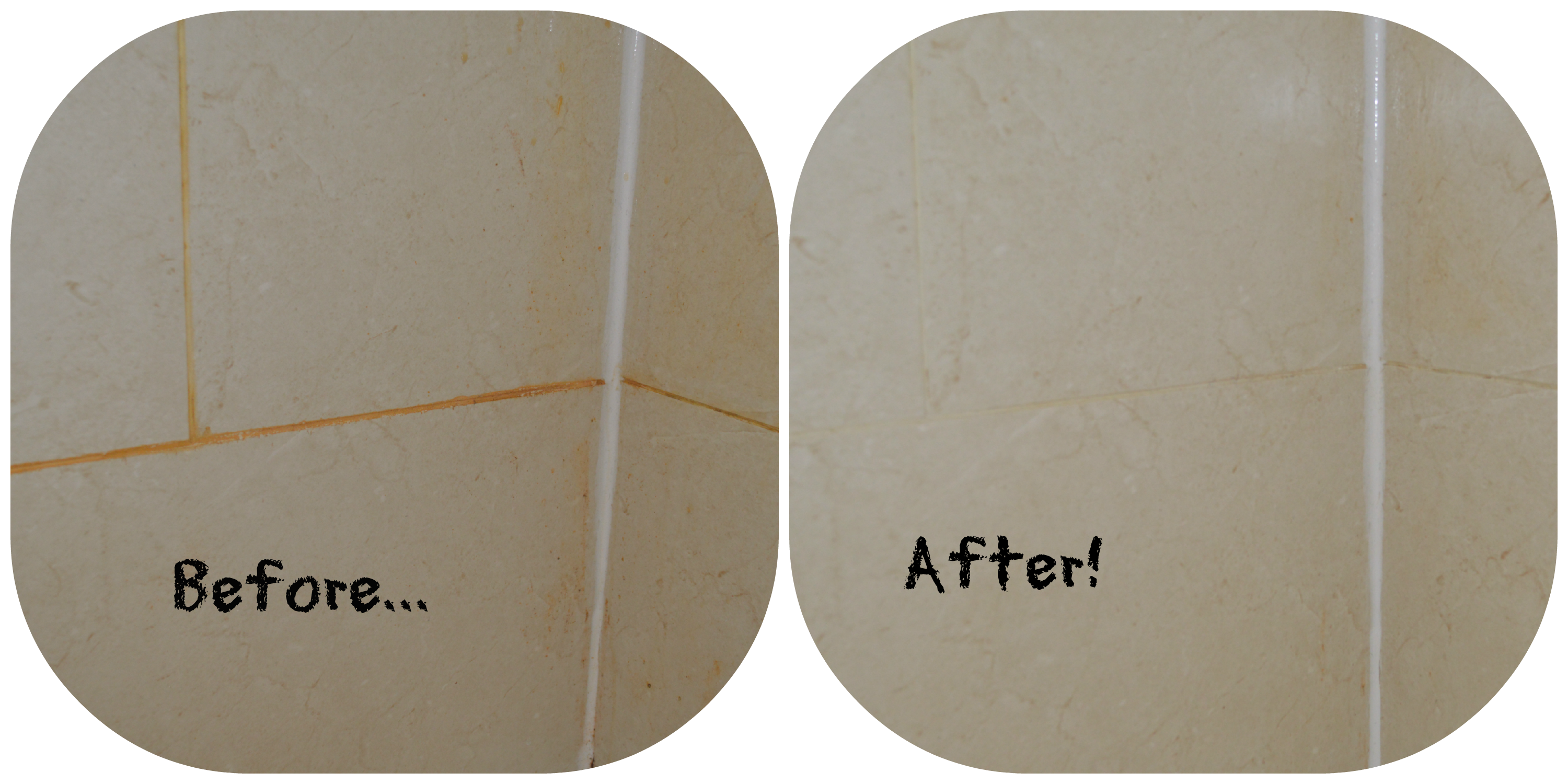 Steam cleaning bathrooms - All That Previous Hard Work And Using The Home Pro Compact Steam Cleaner Got Rid Of The Orange Iron Stains In Ten Minutes Not Just The Area Shown But The