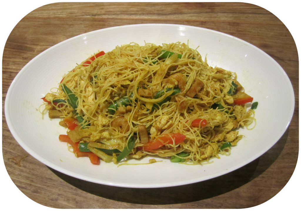 Singapore Noodles From Denise !
