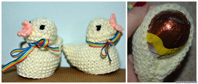 Knitting Easter Chicks : Knitted easter chicks rocknrollerbaby