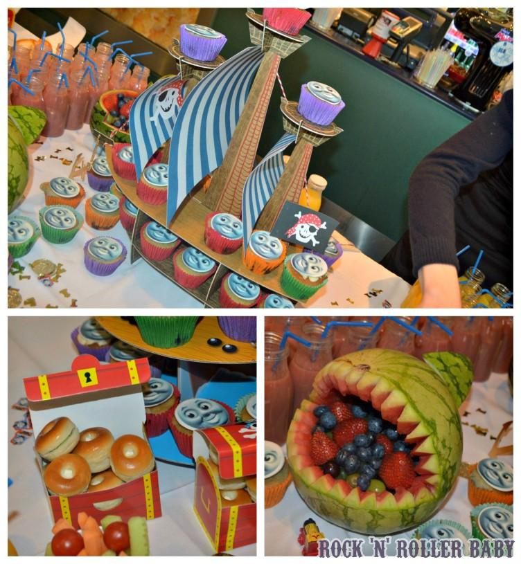 What a party table, I must try that watermelon idea!