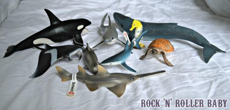The new ocean Schleich figures!