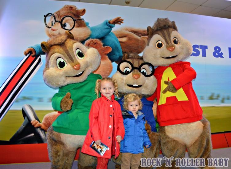 Meeting the Chipmunks!