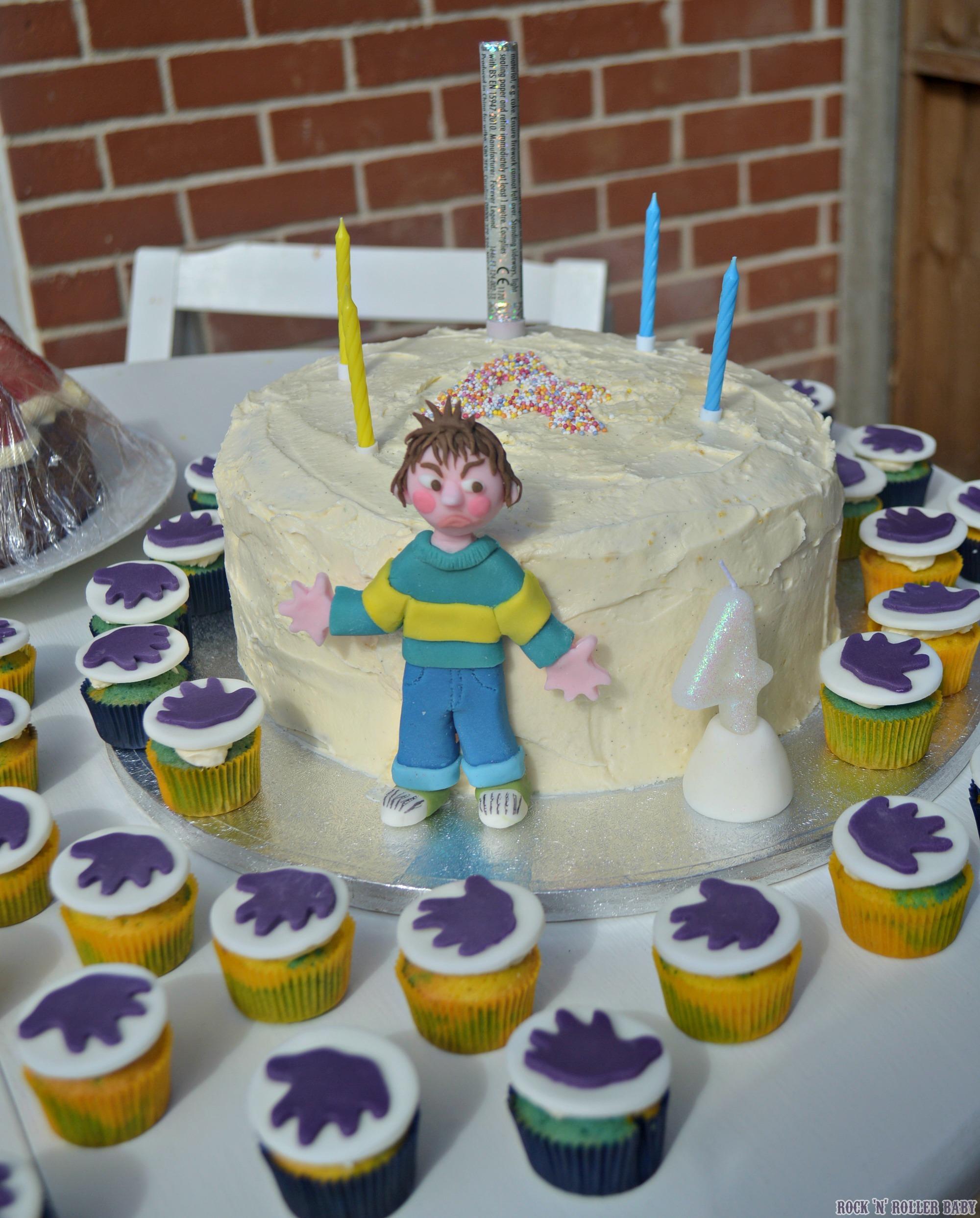 Jimmy S Horrid Henry Birthday Party Rocknrollerbaby