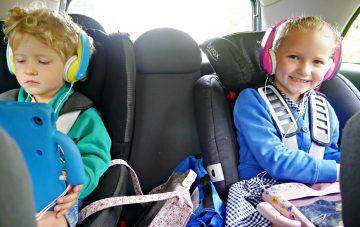 Car iPad Post