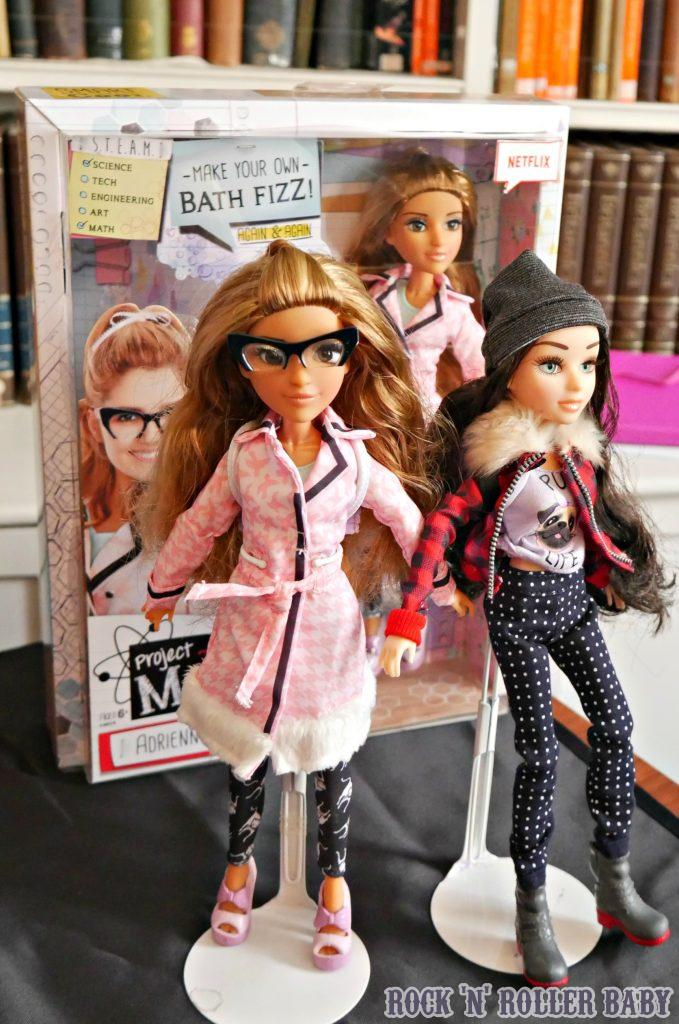 Some of the Project Mc2 dolls!