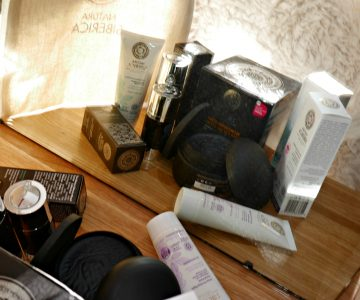 My selection of Natura Siberica skin care products!