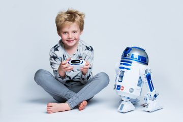 R2-D2 interactive and robotic droid!