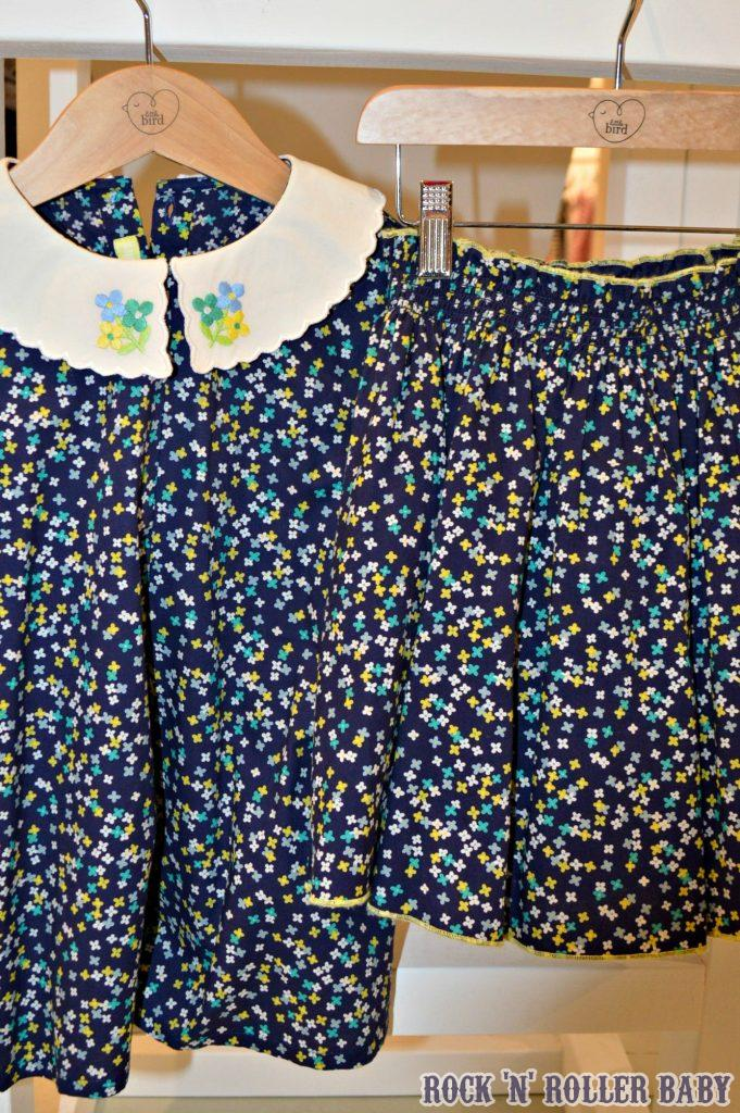 Jools has a twin set every season, a skirt and top and here it is for summer 2017 - LOVE!